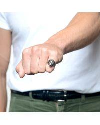 Lulu Frost - Metallic G. Frost Bravery Lion Ring - White Bronze for Men - Lyst
