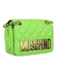 Moschino | Green Handbag | Lyst