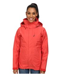 Patagonia - Red 3-in-1 Snowbelle Jacket - Lyst
