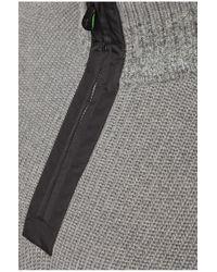 BOSS Green   Gray Sweater 'zem' In Wool Blend for Men   Lyst