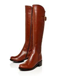 Moda In Pelle | Brown Salida Medium Smart Long Boots | Lyst
