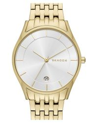 Skagen | Metallic 'holst' Bracelet Watch | Lyst