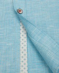 Ted Baker | Blue Linen Shirt for Men | Lyst