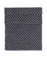 BOSS Orange | Black 'kaven' | Virgin Wool Cotton Scarf for Men | Lyst