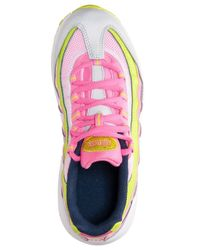 Nike - Pink Little Girls' Air Max 95 Running Sneakers From Finish Line - Lyst