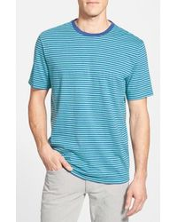 Vineyard Vines | Blue Stripe Pima Cotton T-shirt for Men | Lyst