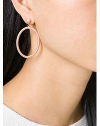 Carolina Bucci | Pink Rose Gold 'Gitane' Gypsy Oval Earrings | Lyst