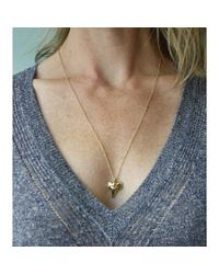 Peyton William Handmade Jewelry | Metallic Shark Tooth 18kt Gold Filled Necklace | Lyst