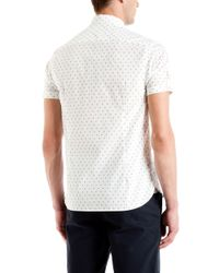 Ted Baker | White Scandel Geo Print Shirt for Men | Lyst