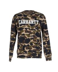 Carhartt | Green Sweatshirt for Men | Lyst