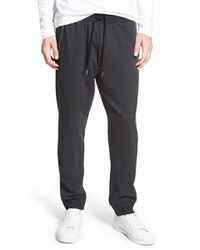 DIESEL | Black 'umlb Massi' Lounge Pants for Men | Lyst