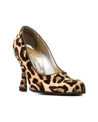 Dolce & Gabbana - Brown Classic Pumps - Lyst