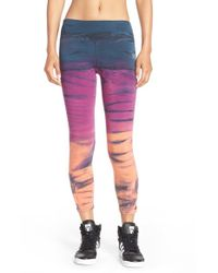 Hard Tail | Multicolor Cutout Ankle Leggings | Lyst