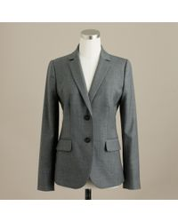 J.Crew | Gray 1035 Two-button Jacket In Super 120s Wool | Lyst