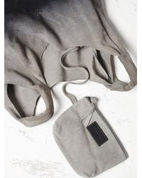 Free People | Gray Yerse Womens Atwood Suede Hobo | Lyst
