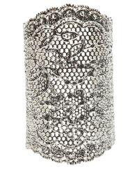 Aurelie Bidermann | Metallic Menator Lace Cuff | Lyst