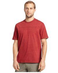 G.H. Bass & Co. - Blue Pieced Heathered T-shirt for Men - Lyst