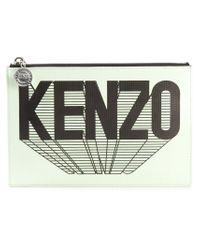 KENZO | Green '' Clutch | Lyst