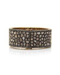 Sanjay Kasliwal   Metallic Diamond Cuff   Lyst