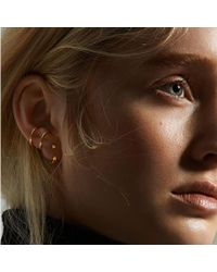 Maria Black - Twin Medi Earcuff In Yellow Gold - Lyst