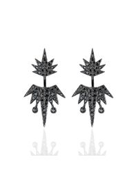 Colette   Black Shooting Star Earrings   Lyst