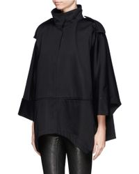 Acne Studios - Black 'ezra' Short Cocoon Coat - Lyst
