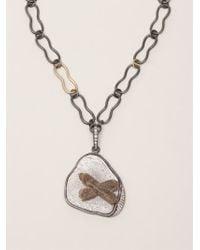 Kelly Wearstler | Gray 'roxbury' Pendant Necklace | Lyst