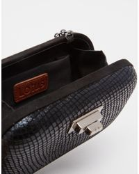 Lotus - Black Box Clutch Bag - Lyst