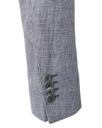 BOSS - Gray Regular-fit Jacket In Linen With Mother Of Pearl Buttons: 'janson1' for Men - Lyst