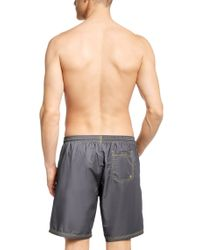 BOSS - Gray 'killifish'   Quick Dry Logo Board Shorts for Men - Lyst