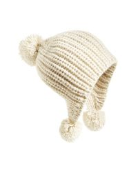 Billabong | Natural 'bonfire Daze' Beanie | Lyst