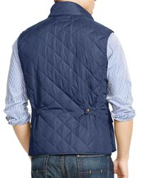Polo Ralph Lauren | Blue Quilted Vest for Men | Lyst