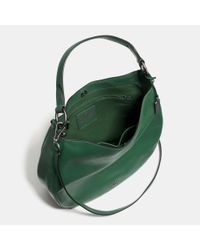 COACH - Natural Nomad Leather Hobo - Lyst