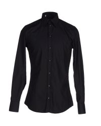 Dolce & Gabbana - Black Shirt for Men - Lyst