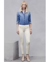 J Brand | White 9227 Low-rise Super Skinny | Lyst