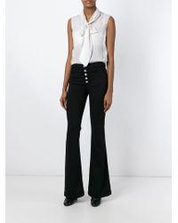 J Brand | Black Flared Jeans | Lyst