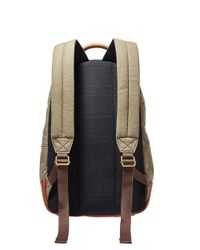 Fossil - Green Estate Backpack for Men - Lyst