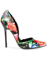 Steve Madden | Multicolor Women'S Varcityy Two-Piece Pumps | Lyst
