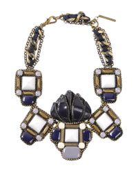 Beavaldes - Purple Necklace - Lyst