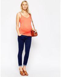 ASOS | Orange Nursing Cami With Clips | Lyst