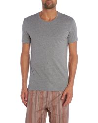 Paul Smith | Gray Short Sleeve Cotton T-shirt for Men | Lyst