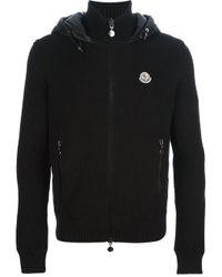 Moncler - Black Padded Jacket for Men - Lyst