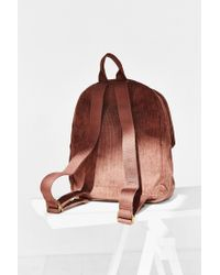 Urban Outfitters - Brown Uo Basic Cord Backpack - Lyst
