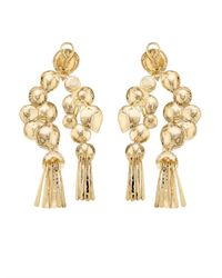 Aurelie Bidermann - Metallic Iroquois Dangling Earrings - Lyst