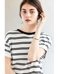 Urban Outfitters - Metallic Dressed Up Bike Chain Bracelet - Lyst