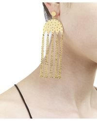 Arme De L'Amour | Metallic Punch Hole Chime Earring / Sale | Lyst