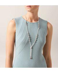 Hobbs | Metallic Erin Pearl Lariet | Lyst
