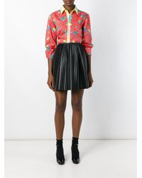 Jeremy Scott - Orange Mushroom Print Shirt - Lyst