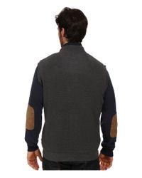 Woolrich | Black Bromley Vest for Men | Lyst