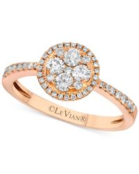Le Vian | Pink ® Diamond Circle Ring (1/2 Ct. T.w.) In 14k Rose Gold | Lyst